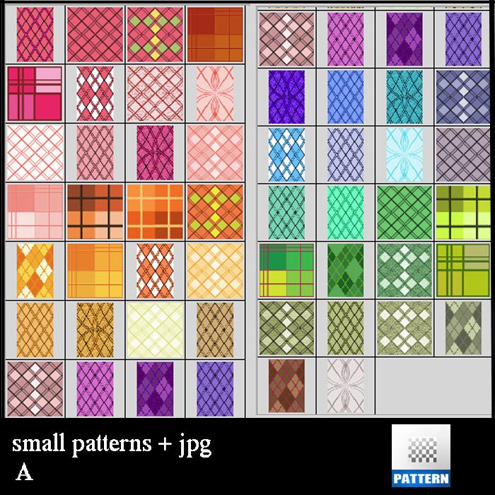 small  patterns A