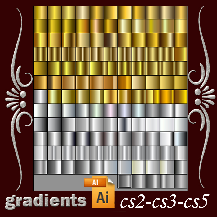 Free Metallic Gradients For Paint Shop Pro