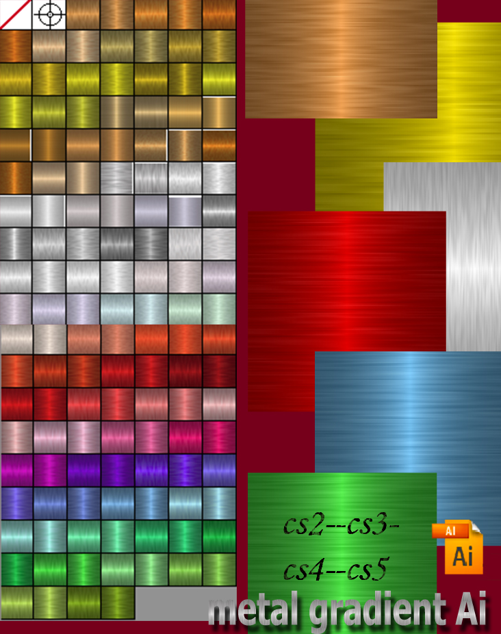 Ai Gradient Metal by roula33