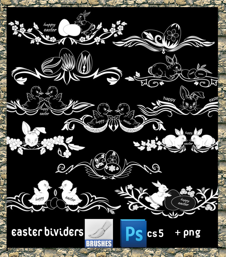 Easter Dividers