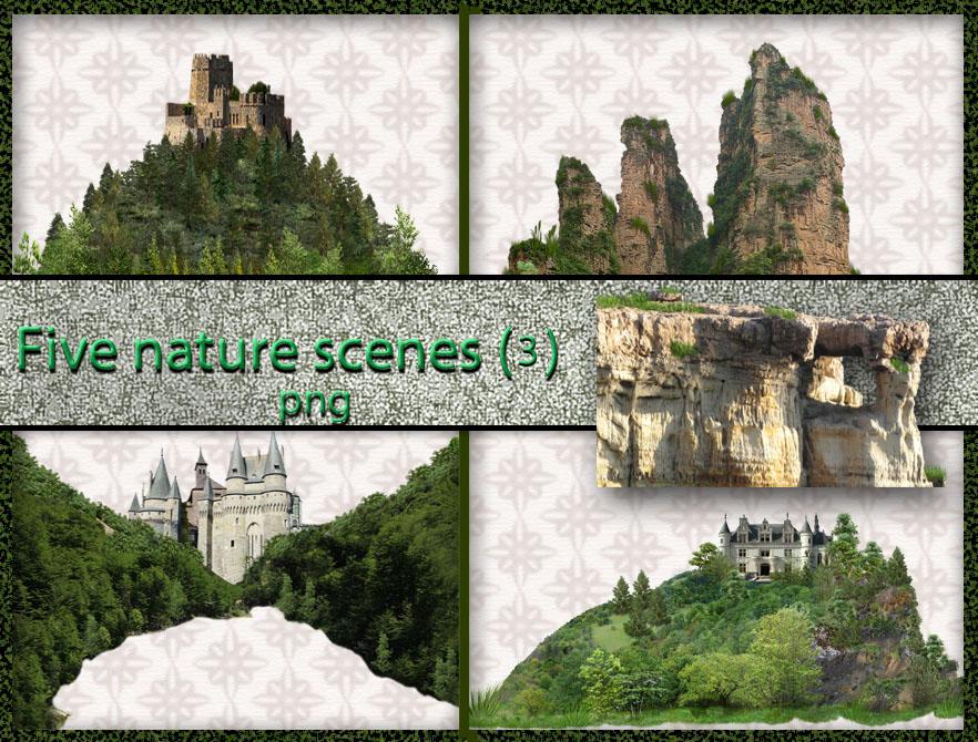 Five nature scenes (3)