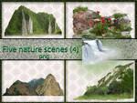 Five nature scenes (4)