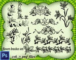 Flowers Brushes Sets