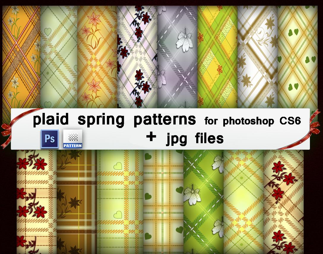 Plaid Spring Patterns