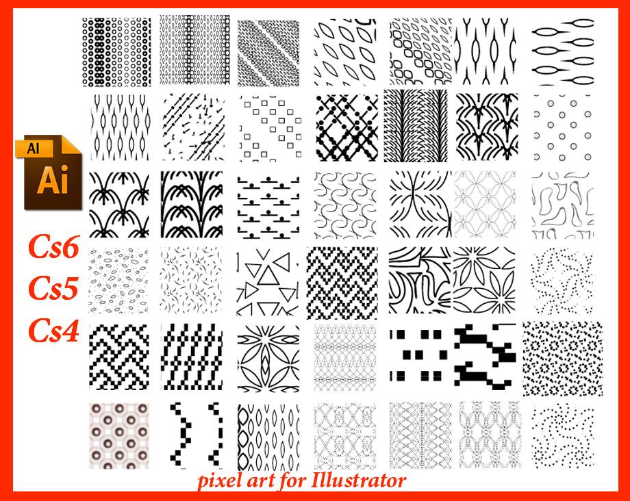 pixelArt for Illustrator by roula33