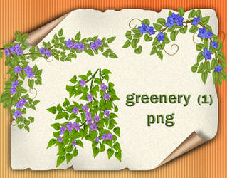 Greenery 1 by roula33