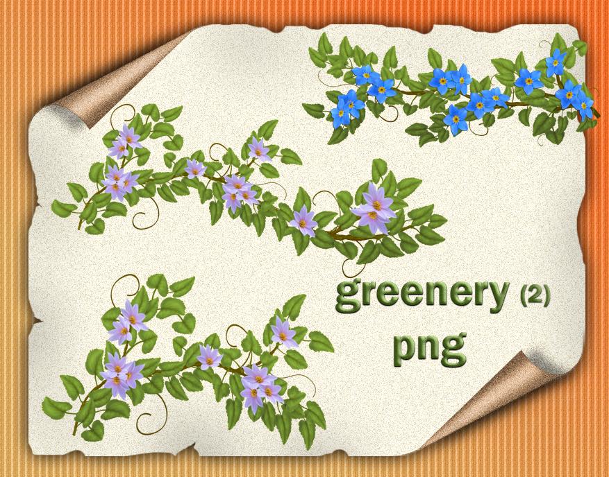 Greenery 2 by roula33