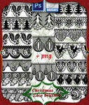 Christmas lace R33