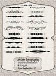 Dividers Typografy