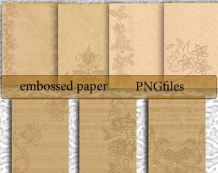 Embossed Paper 2