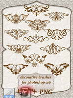 Decorative Brushes by roula33