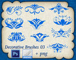 Decorative Brushes 03