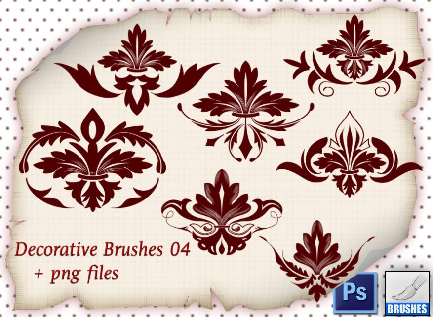 Decorative Brushes 04