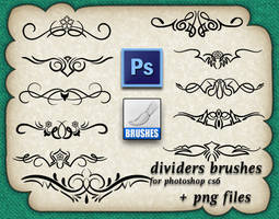 Dividers Brushes by roula33
