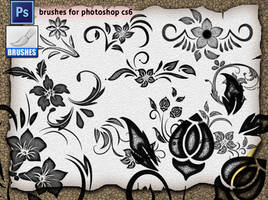 Decorative Brushes 05 by roula33