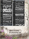 Effects brushes