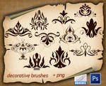 Decorative Brushes 1450