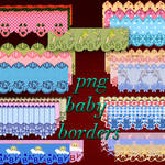 Backgrounds png baby borders