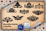 Decorative Brushes 9