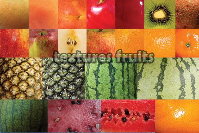 Textures Fruits 1 by roula33