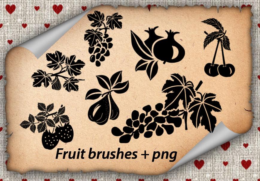 Fruit brushes by roula33