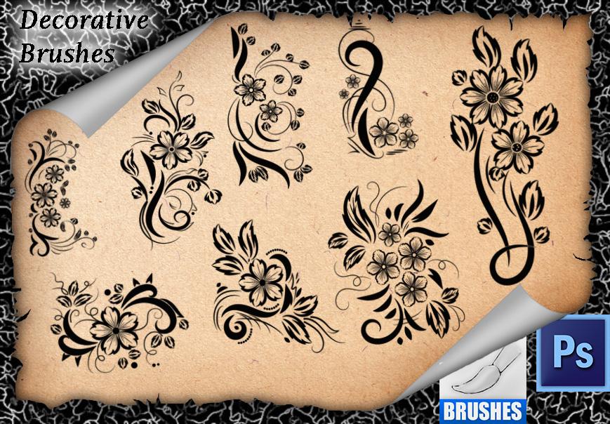 Decorative Brushes 07