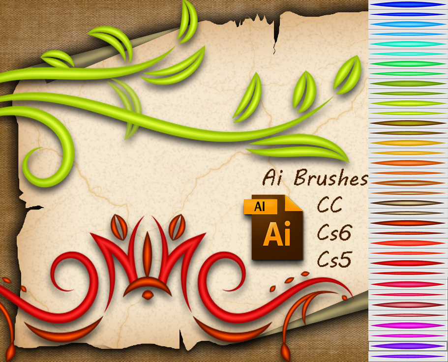 Ai Brushes by roula33