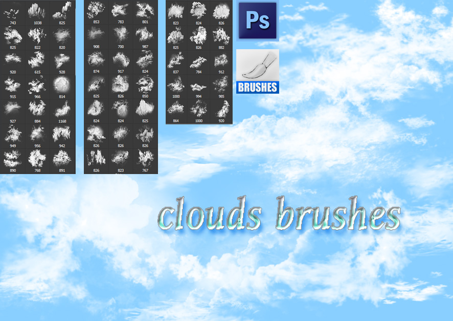 Clouds Brushes by roula33