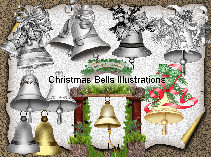 Christmas Bells Illustrations by roula33