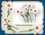Vector Png Daisies