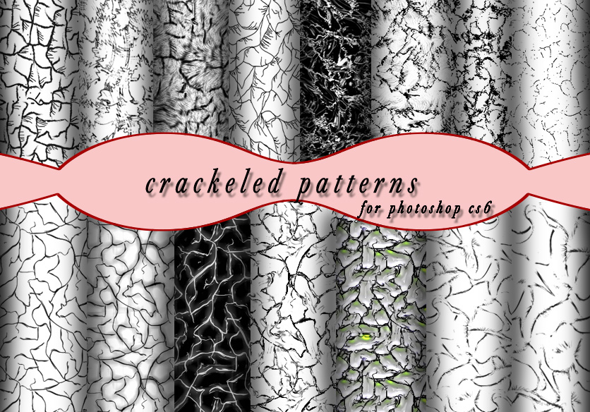 Crackeled Patterns by roula33
