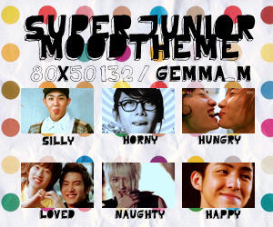 Super Junior Moodtheme by qw9