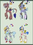 Rare Castle ponies Auction (CLOSED)