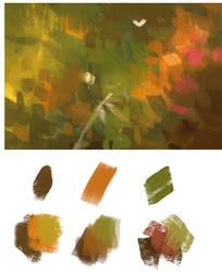 Painterly Brushes by sandara