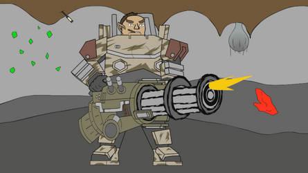 Gunner Mini Gun Animated