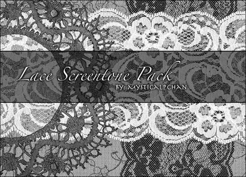 Lace Screentone Pack