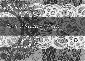 Lace Screentone Pack