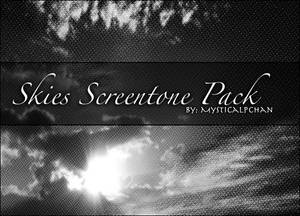 Skies Screentone Pack