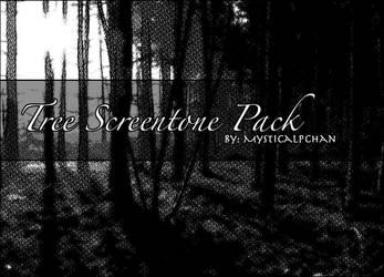 Tree Screentone Pack by Mysticalpchan