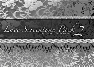 Lace Screentone Pack 2