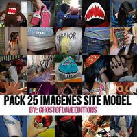 Pack 25 Imagenes Site Model by GhostOfLoveEditions