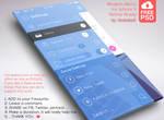 Modern Menu for iphonr 5 Retina Ready - FREE PSD