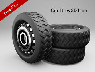 Car Tires Png Icon - Free Download by khaledzz9
