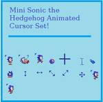 Mini Sonic Cursor Set
