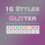 + 16 Styles Glitter.