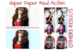 + Super Duper Red. by NiickiithaEditions