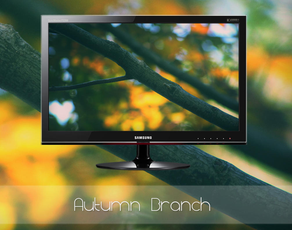 Autumn Branch by MGWallpaper