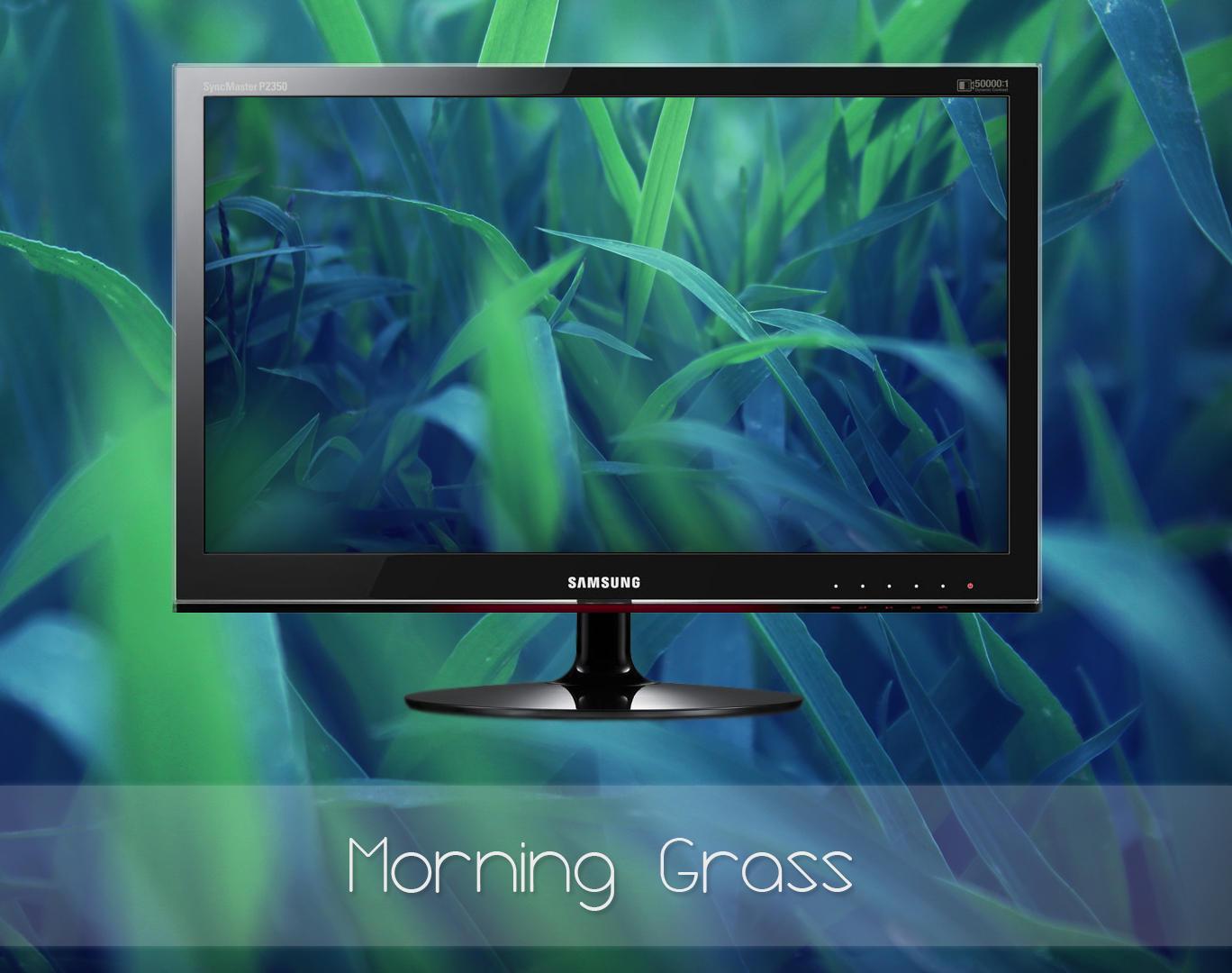 Morning Grass by MGWallpaper
