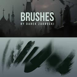 FREE PHOTOSHOP BRUSHES! DAREK ZABROCKI BRUSH SET by darekzabrocki
