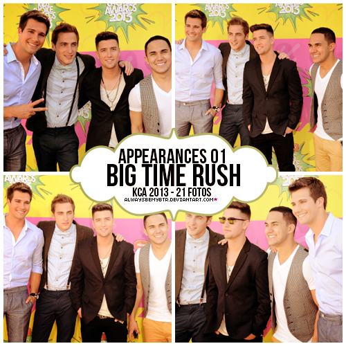 Appearances 01 BTR - KCA 2013 by alwaysbemybtr